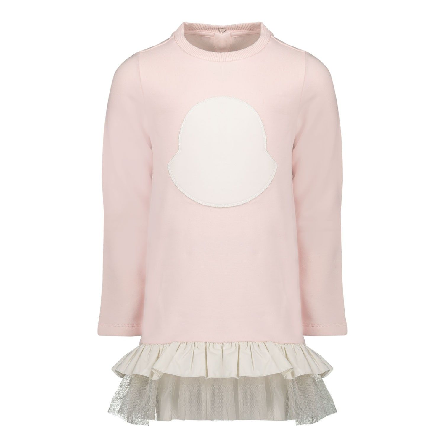Picture of Moncler 8I71710 baby dress light pink