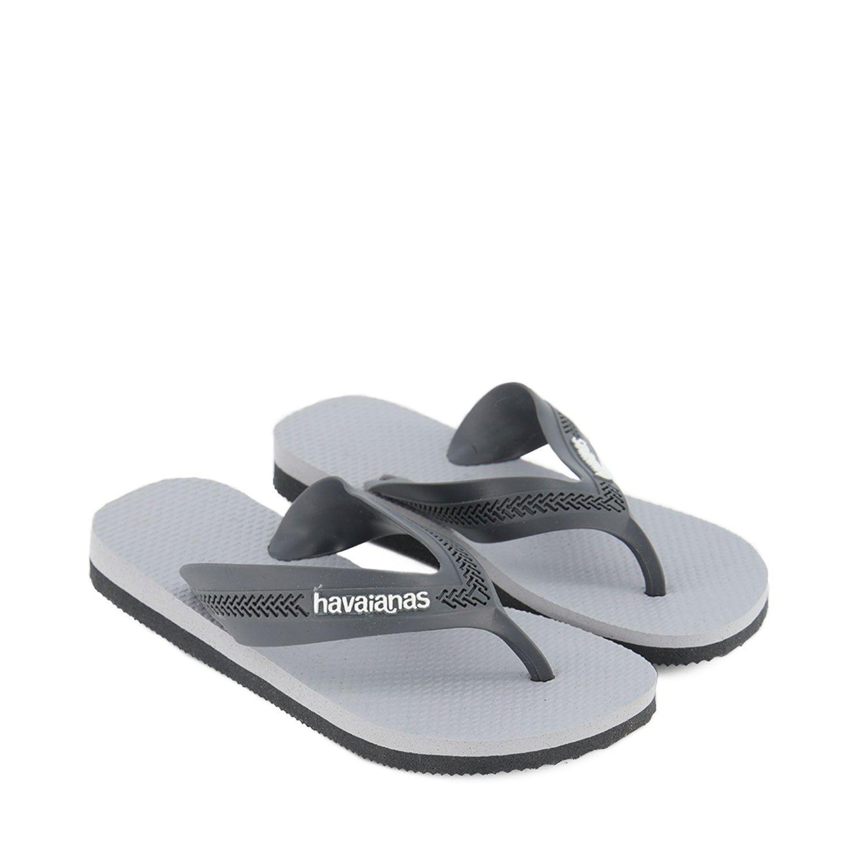 Picture of Havaianas 4130090 kids flipflops grey