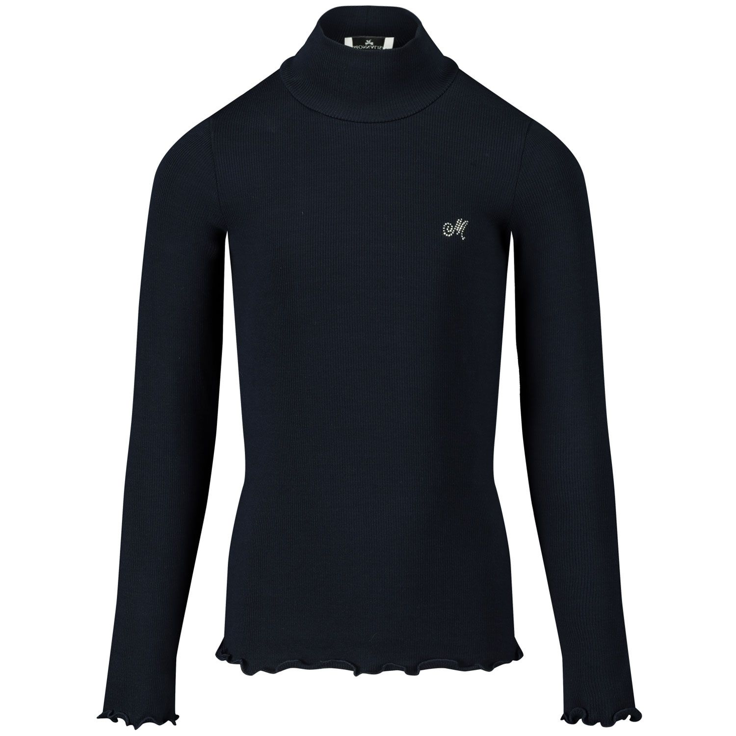 Picture of MonnaLisa 176LUC kids t-shirt navy