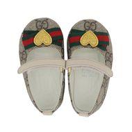 Afbeelding van Gucci 418995 babyschoenen beige