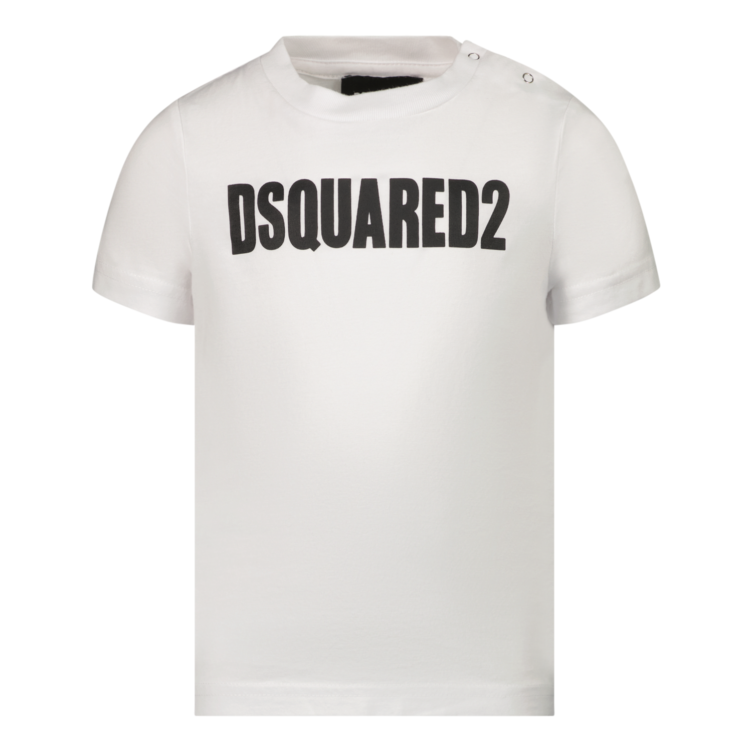 Picture of Dsquared2 DQ0552 baby shirt white