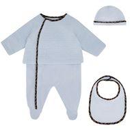 Bild von Fendi BUK068 Babystrampelanzug Hellblau