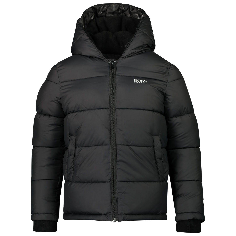 Picture of Boss J26417 kids jacket black