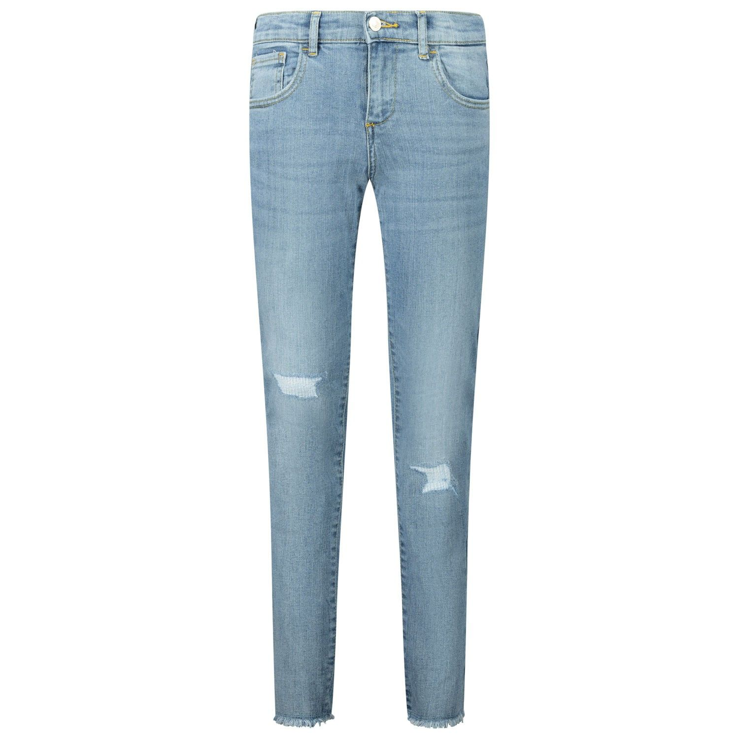 Picture of Guess J01A06 kids jeans jeans