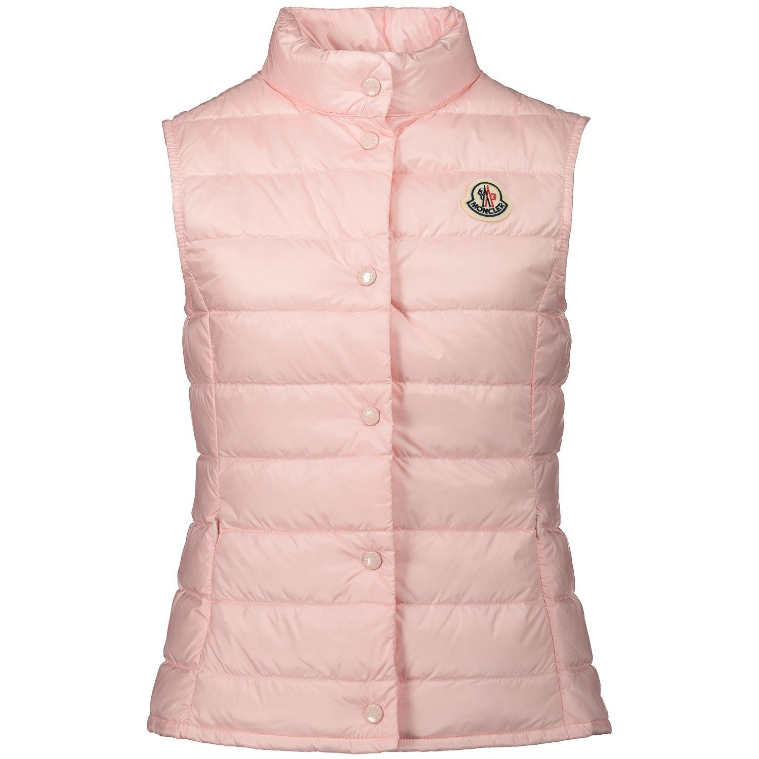 Picture of Moncler 1A11810 kids bodywarmer light pink