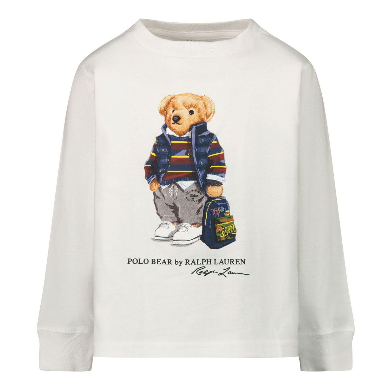Afbeelding van Ralph Lauren 320805681 baby t-shirt wit