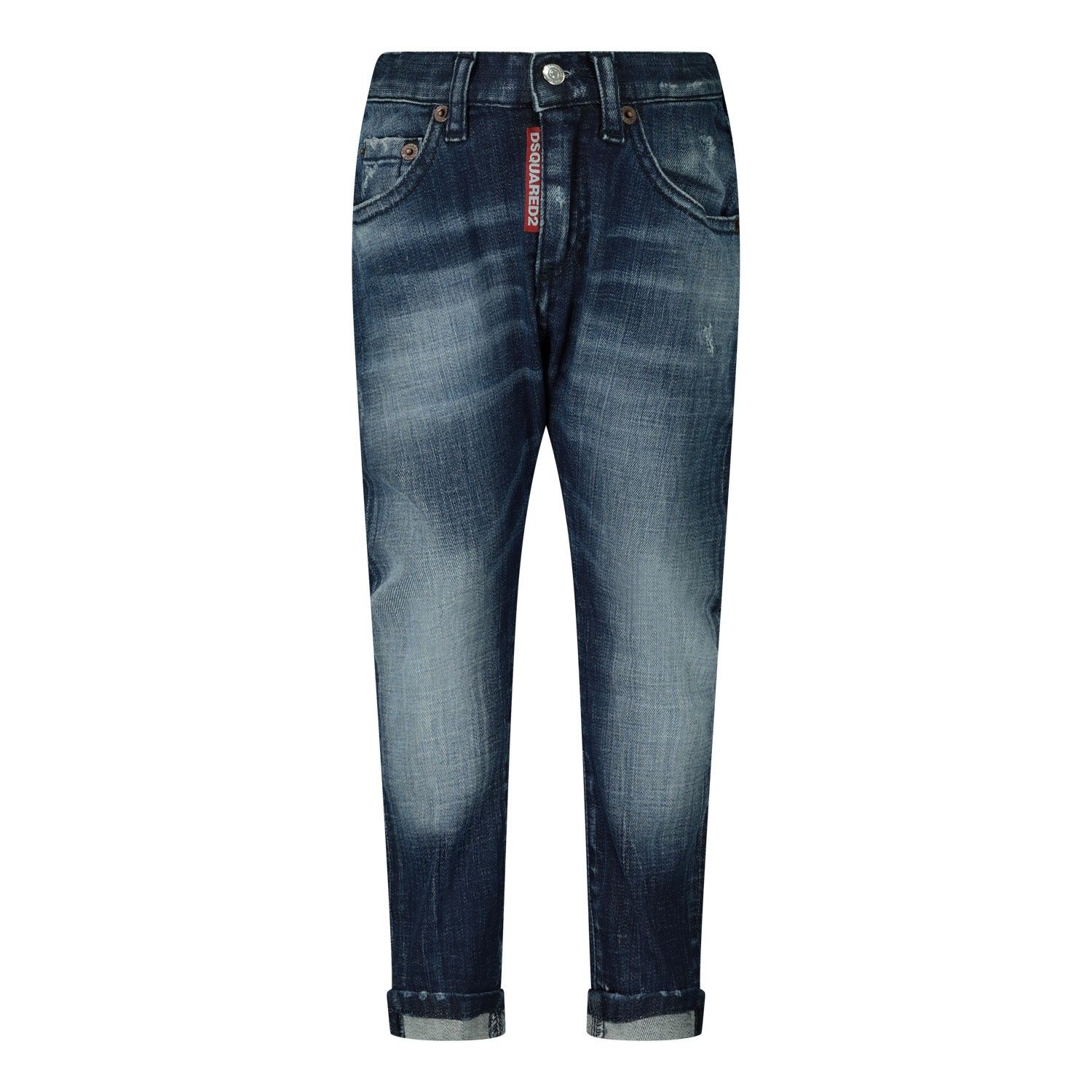 Picture of Dsquared2 DQ01TC D00YA baby pants jeans