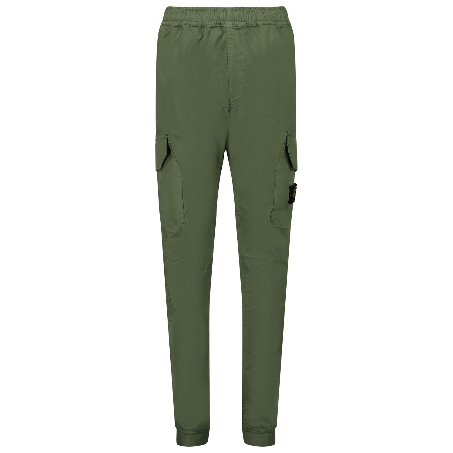 Picture of Stone Island 30412 kids jeans dark green