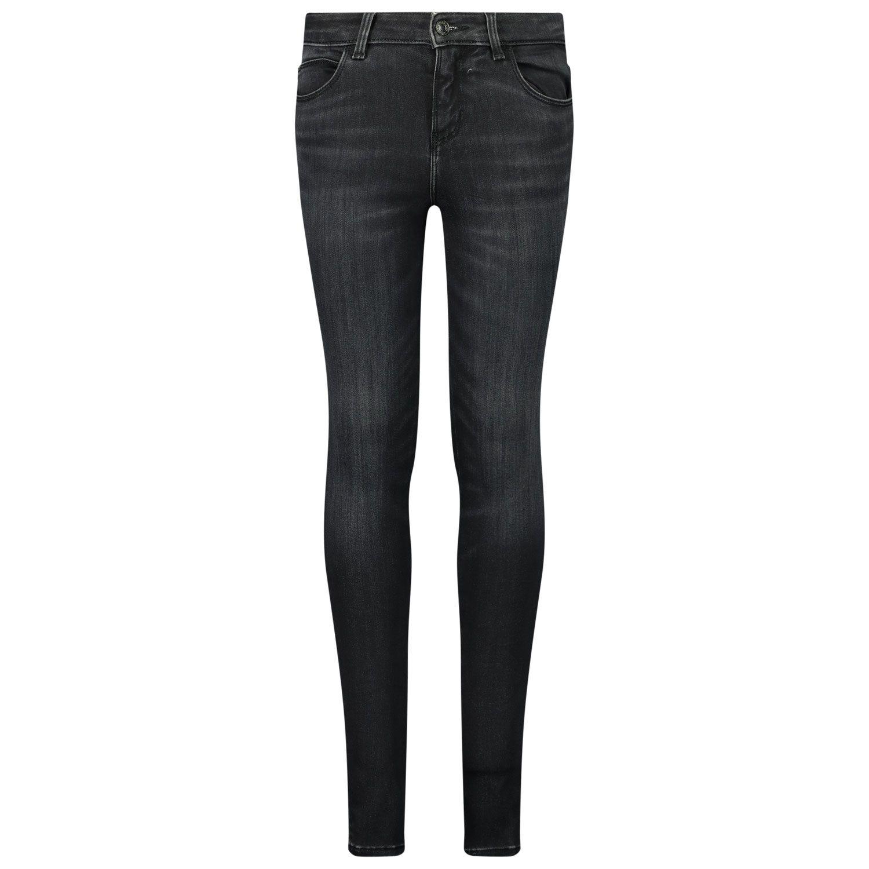 Picture of Guess J0BA17/D465A kids jeans black