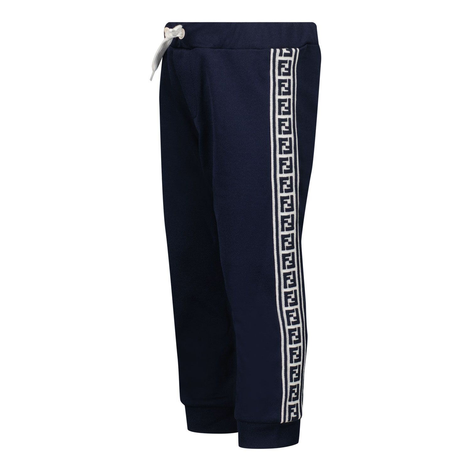 Picture of Fendi BUF047 A69D baby pants navy