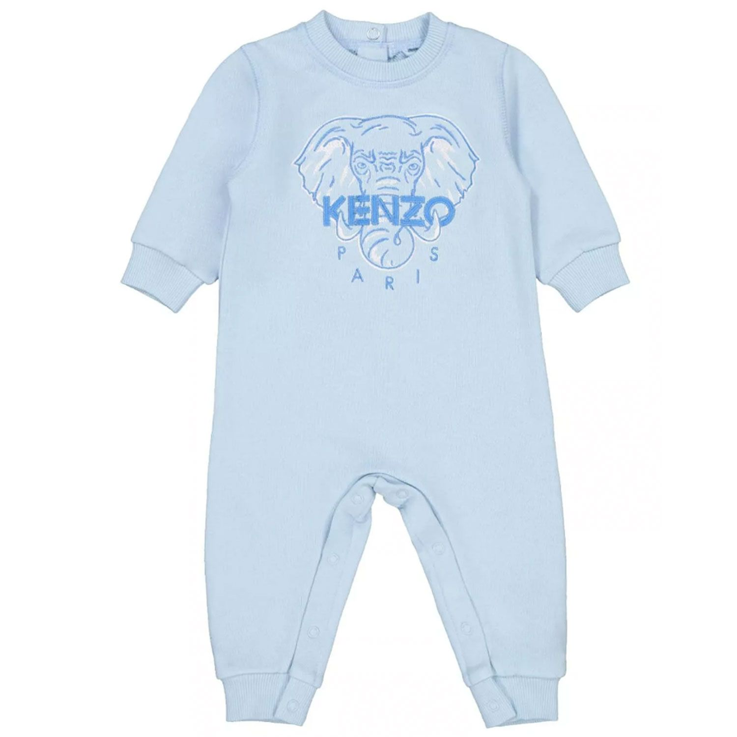 Picture of Kenzo K94019 baby playsuit light blue