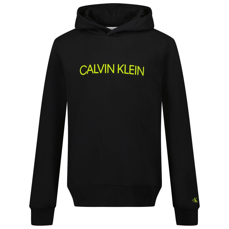 Picture of Calvin Klein IU0IU016 kids sweater black