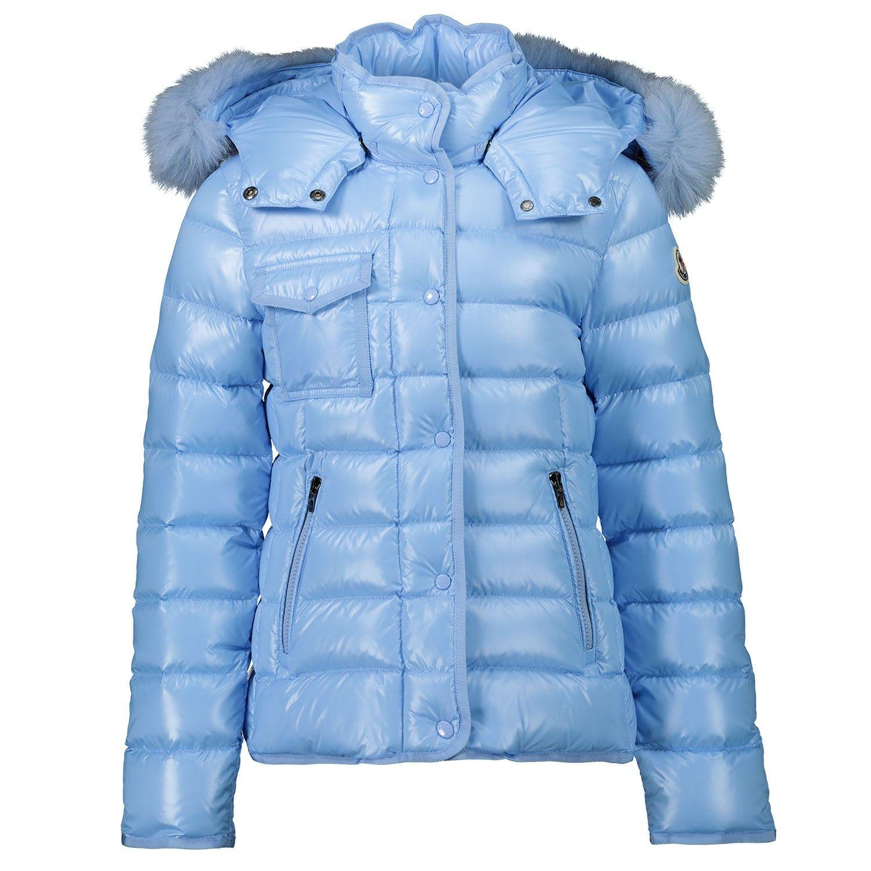 Afbeelding van Moncler 1A54912 kinderjas licht blauw