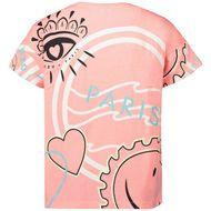 Afbeelding van Kenzo 10038 kinder t-shirt fluor roze