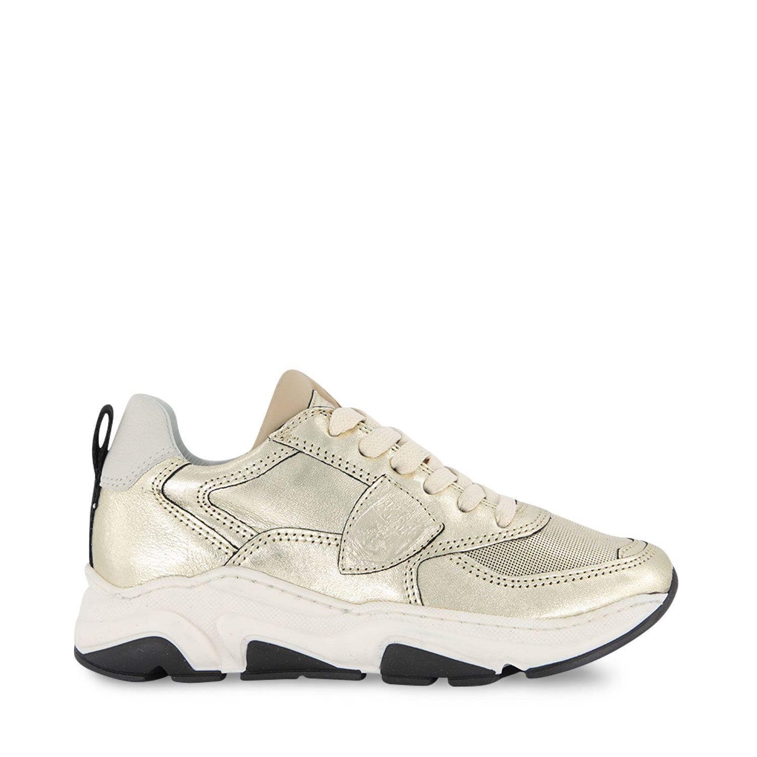 Picture of Philippe Model AI20EZL0 kids sneakers gold