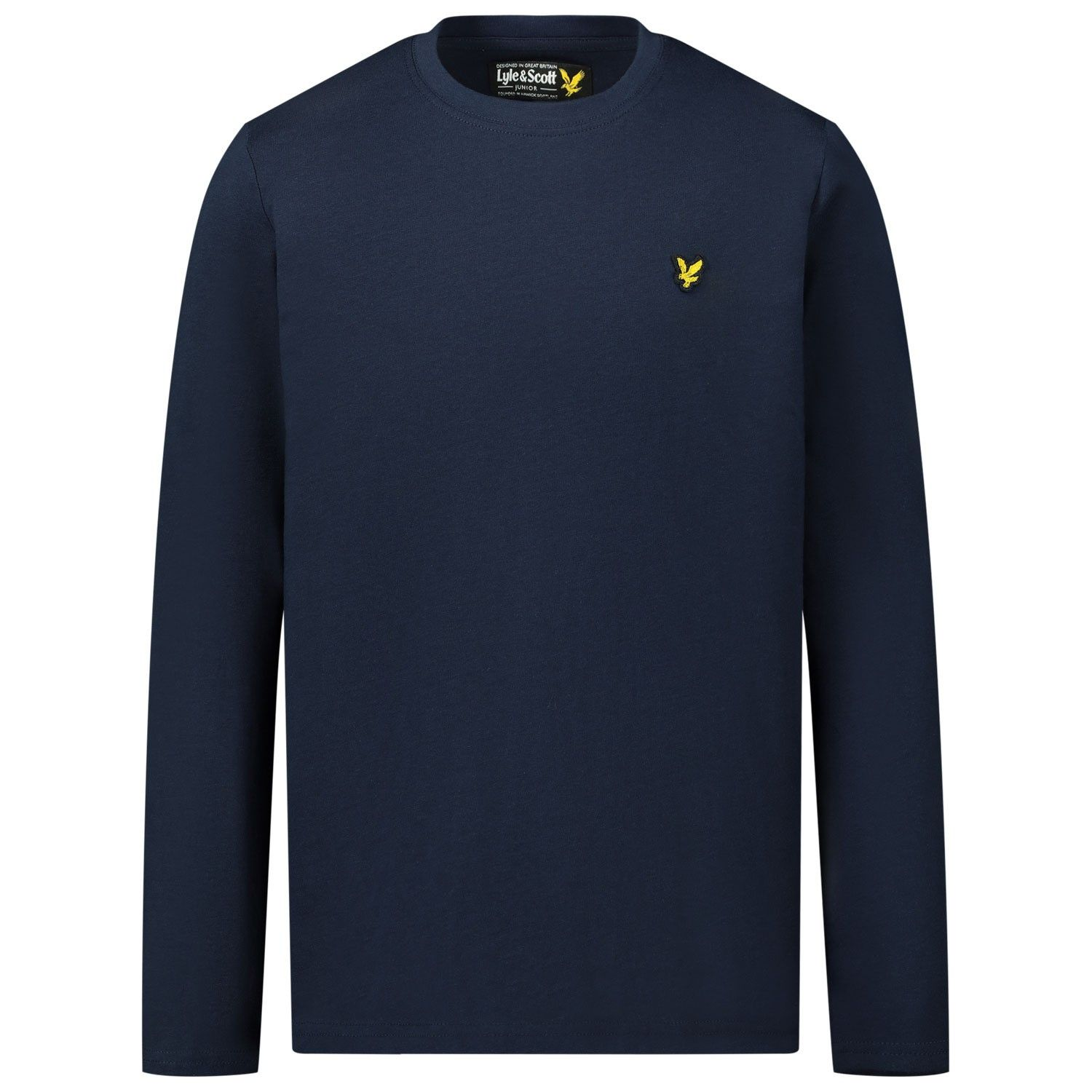 Picture of Lyle & Scott LSC0056 kids t-shirt navy