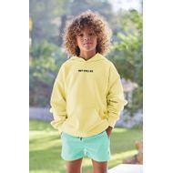 Afbeelding van SEABASS HOODIE kindertrui geel