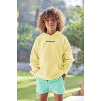 Picture of SEABASS HOODIE kids sweater yellow