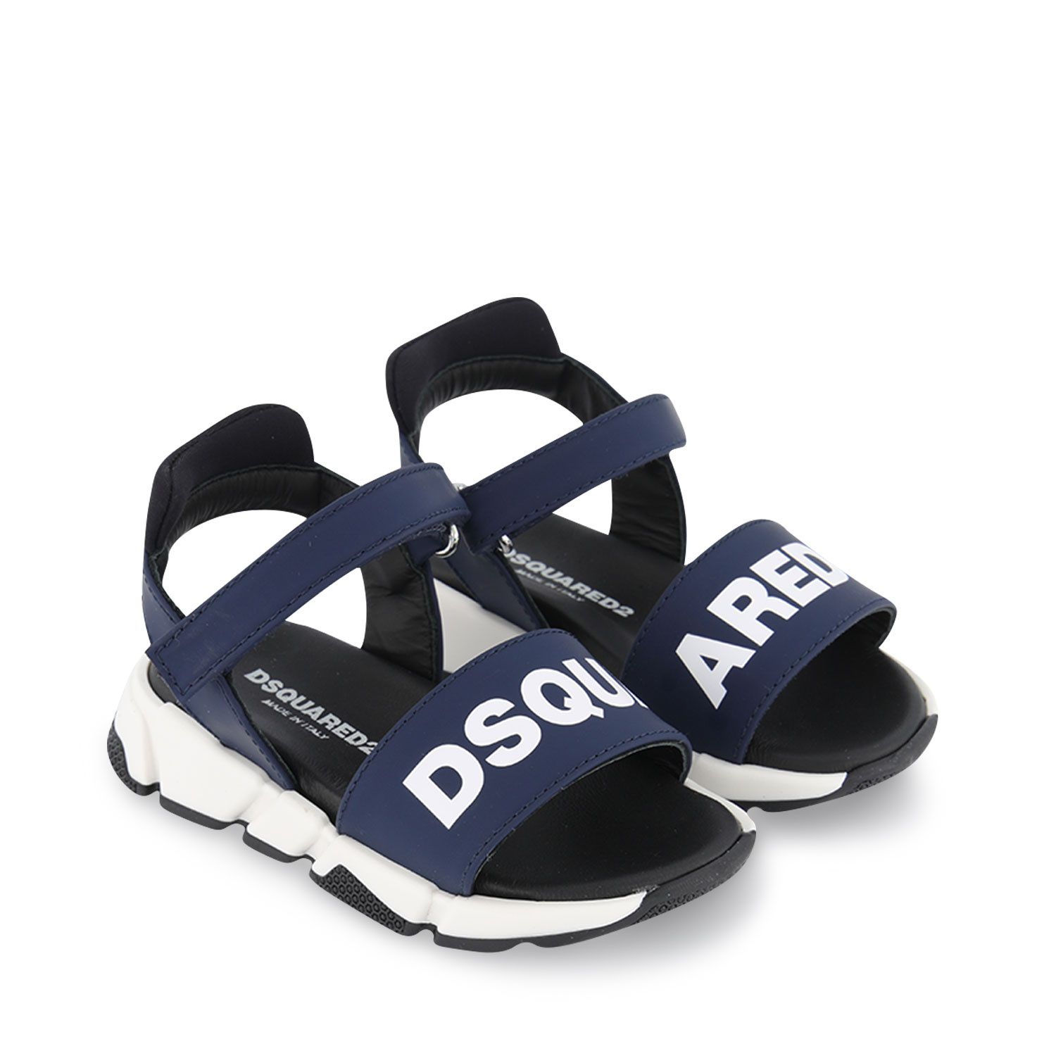 Picture of Dsquared2 66961 kids sandals navy