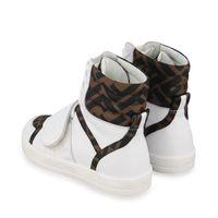 Picture of Fendi JMR350 AD7D kids sneakers white