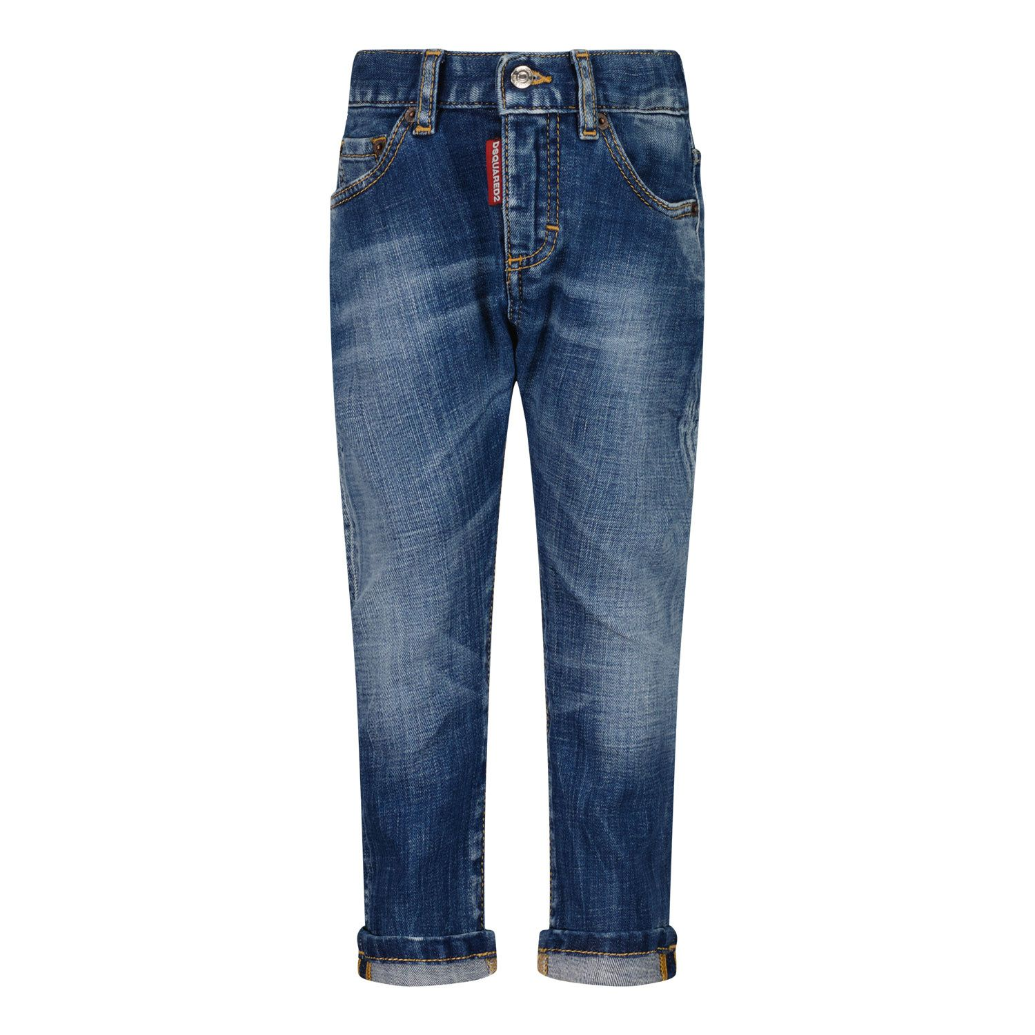 Picture of Dsquared2 DQ01TC D007K baby pants jeans