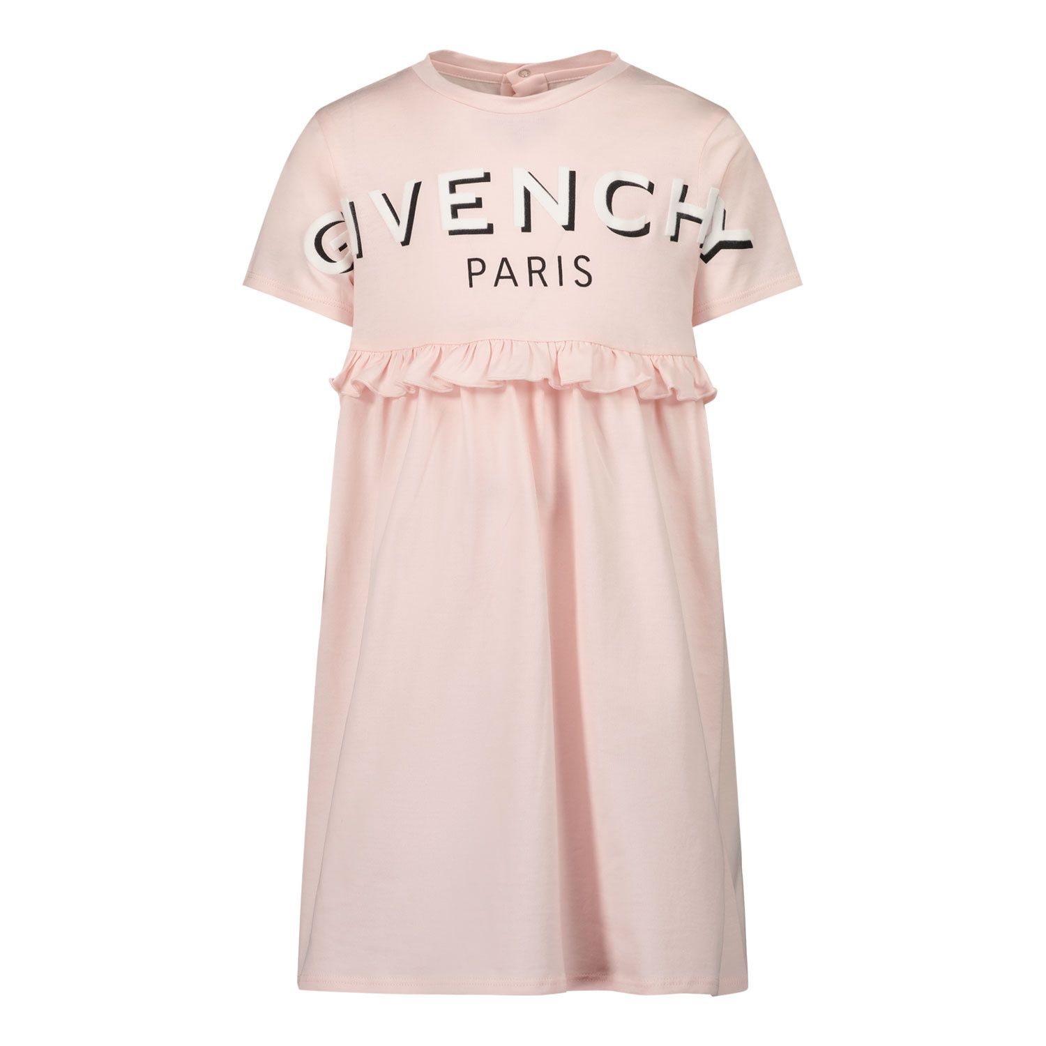 Picture of Givenchy H02075 baby dress light pink
