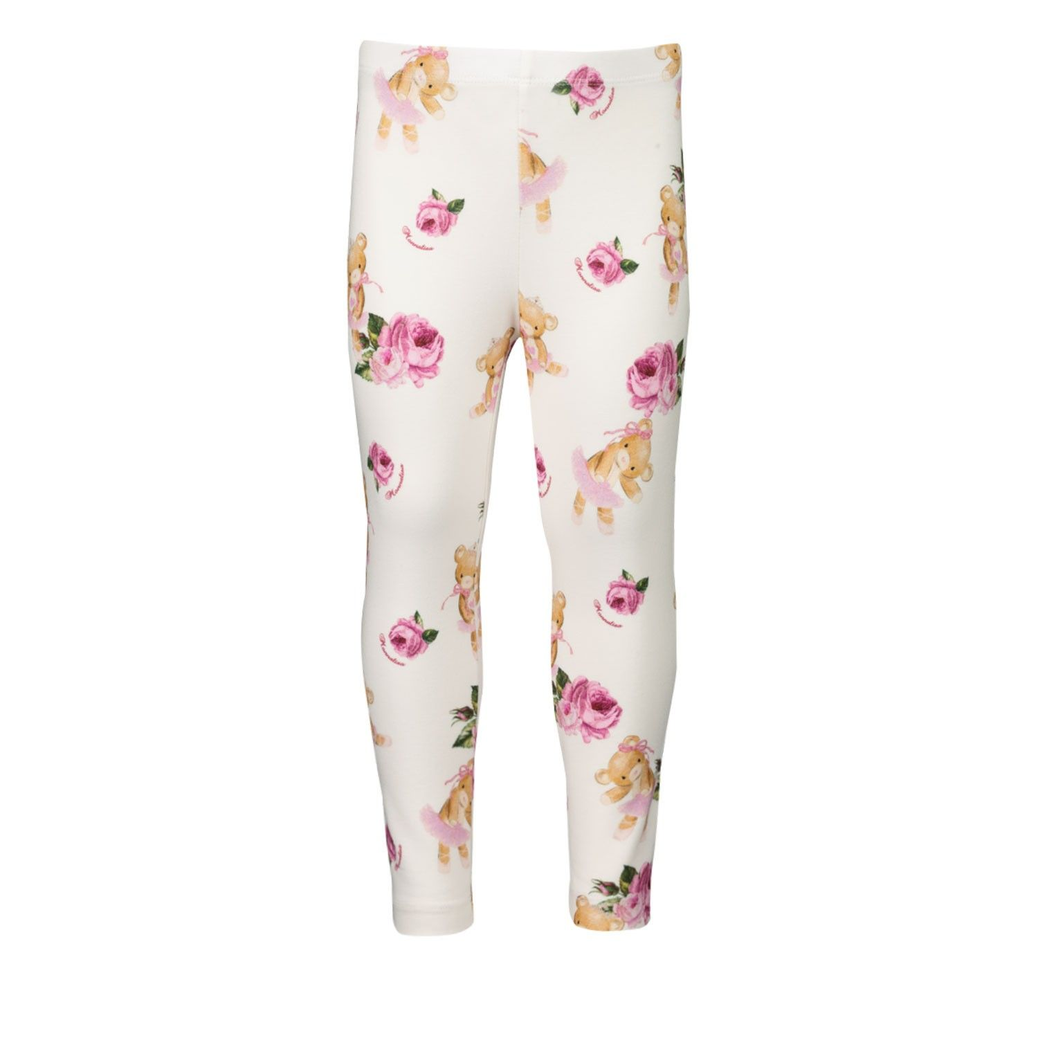 Picture of MonnaLisa 316404 baby legging off white