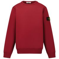 Picture of Stone Island 61340 kids sweater bordeaux