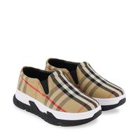 Picture of Burberry 8037072 kids sneakers beige