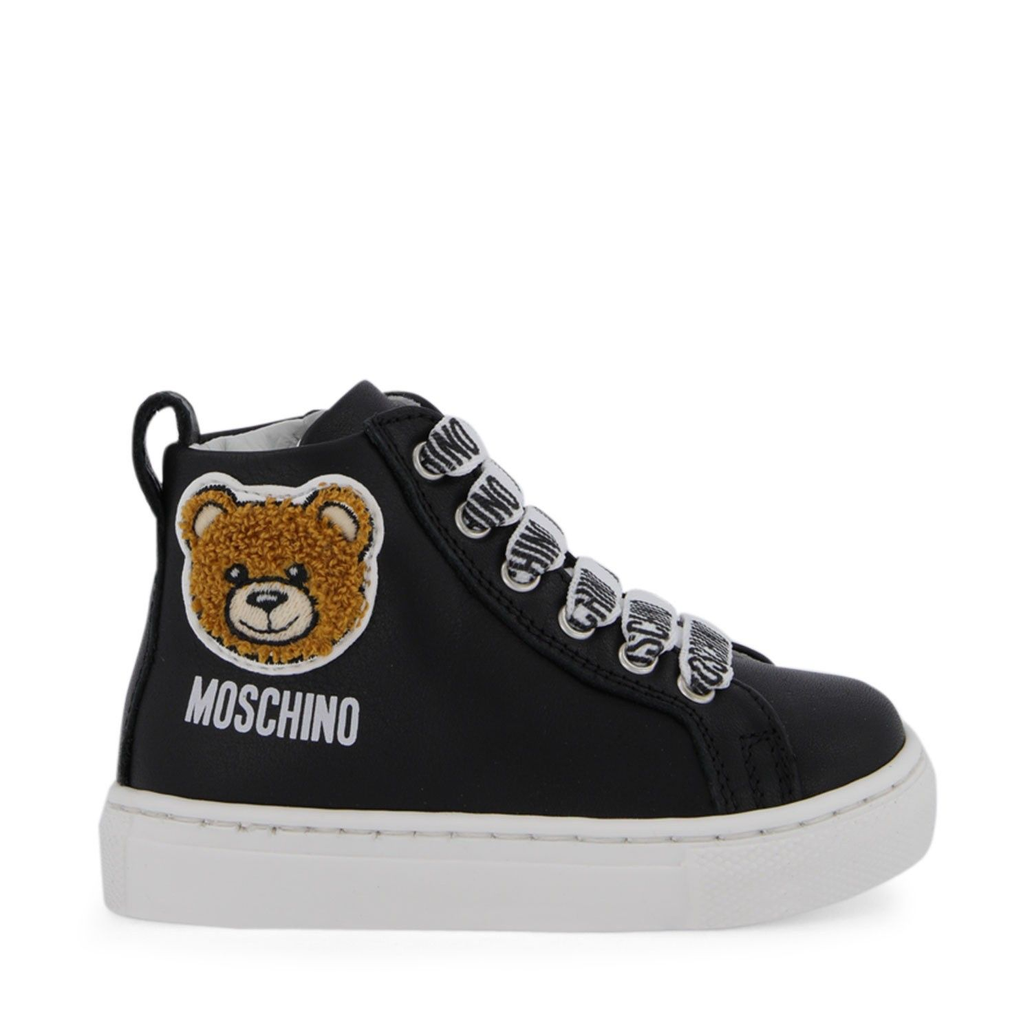 Picture of Moschino 65595 kids boots black