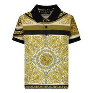 Bild von Versace 1000196 1A00304 Babypoloshirt Weiß