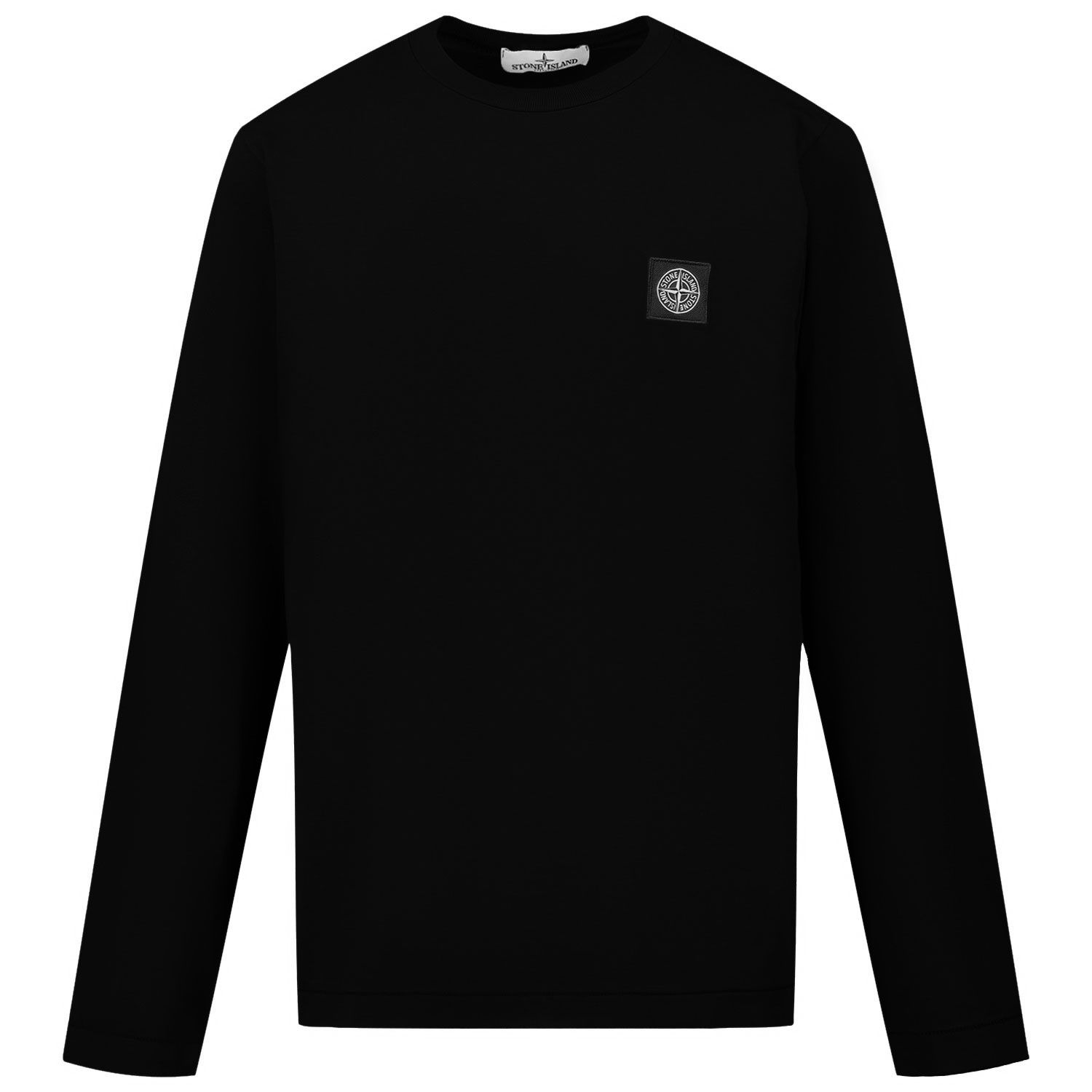 Picture of Stone Island MO731620447 kids t-shirt black