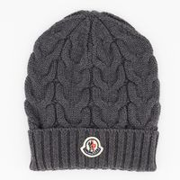 Picture of Moncler 11005 kids hat grey
