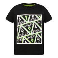Bild von Guess N1Y125 Baby-T-Shirt Schwarz