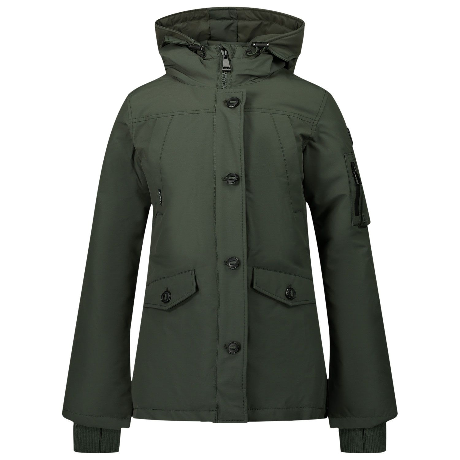 Picture of Airforce HRG0541 kids jacket army