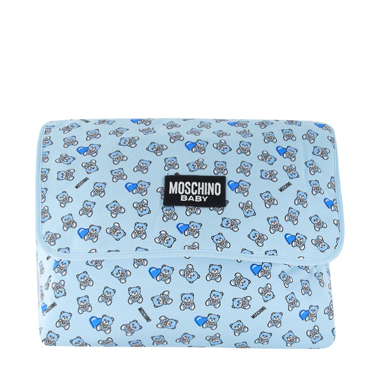 Afbeelding van Moschino MMX03D luiertas licht blauw