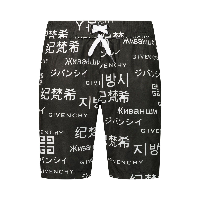 Bild von Givenchy H20046 Kinderschwimmbekleidung Schwarz