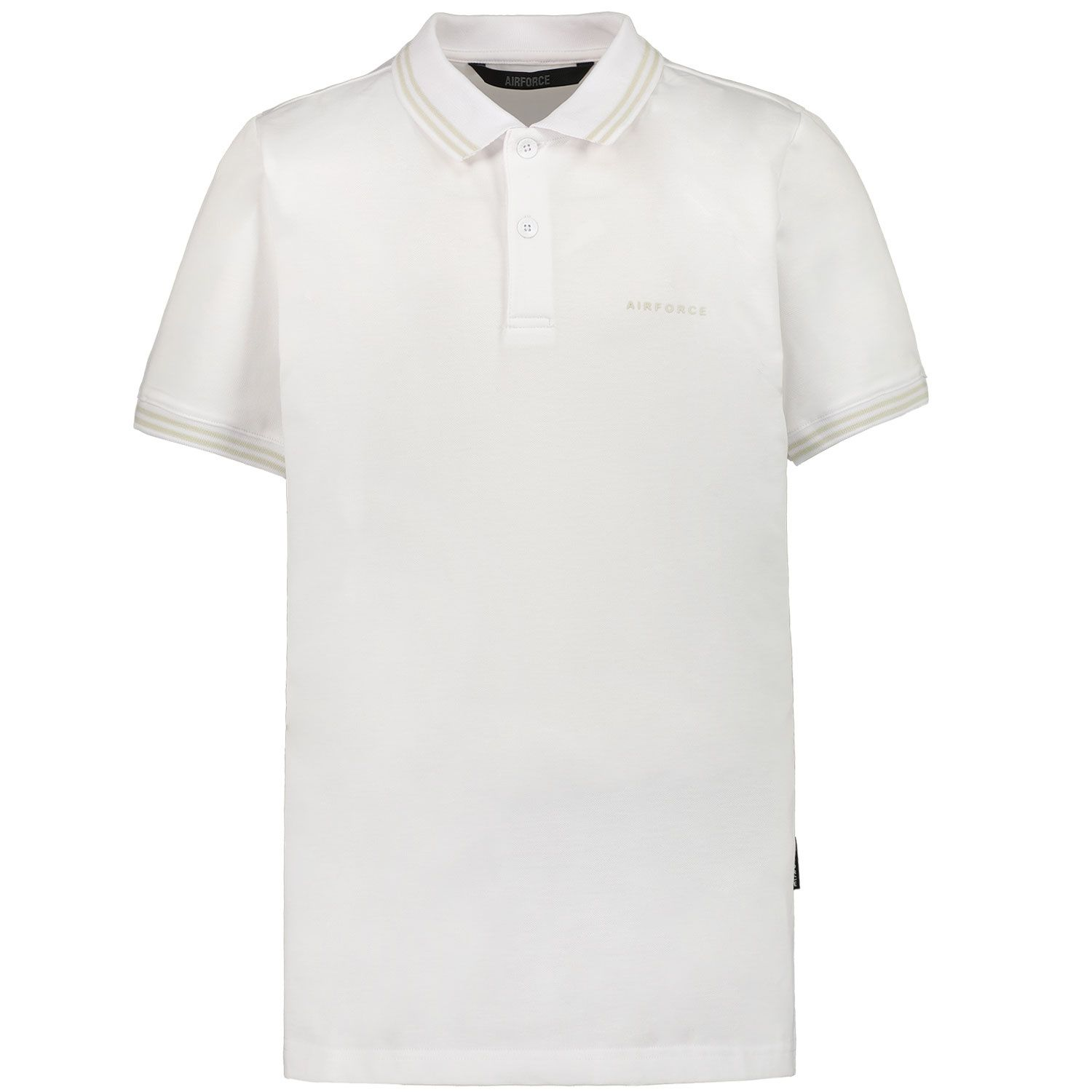 Picture of Airforce HRB0655 kids polo shirt white