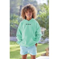 Picture of SEABASS HOODIE kids sweater mint