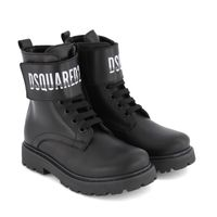 Picture of Dsquared2 65186 kids boots black