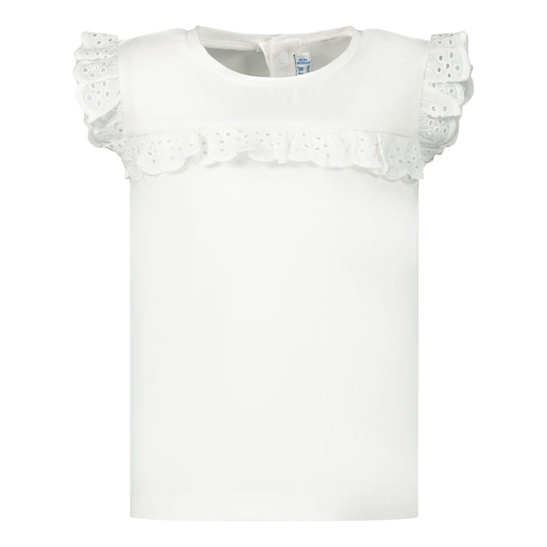 Afbeelding van Mayoral 1061 baby t-shirt wit