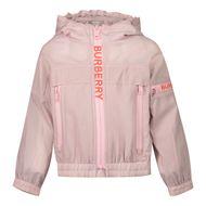 Afbeelding van Burberry 8038402 babyjas licht roze