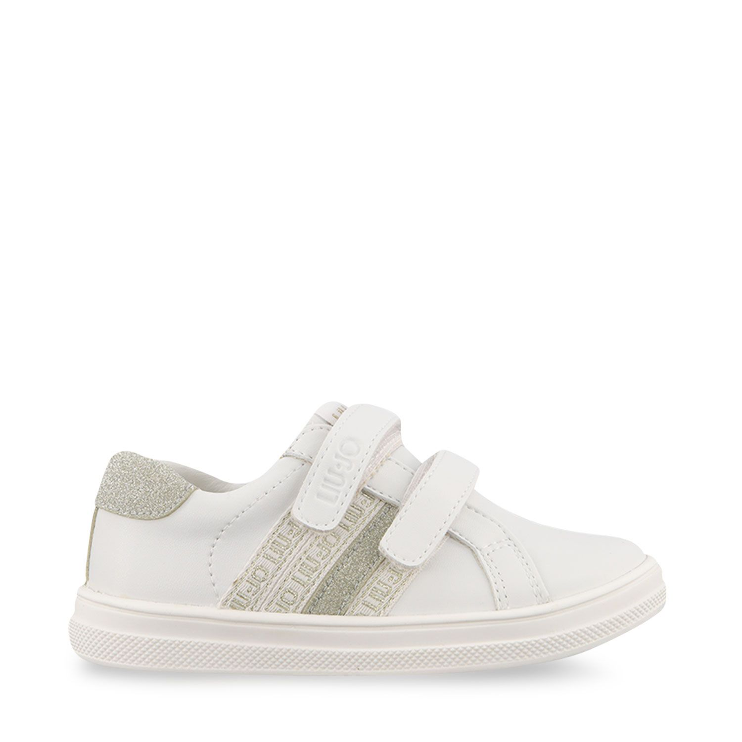 Picture of Liu Jo 4A1307 kids sneakers white