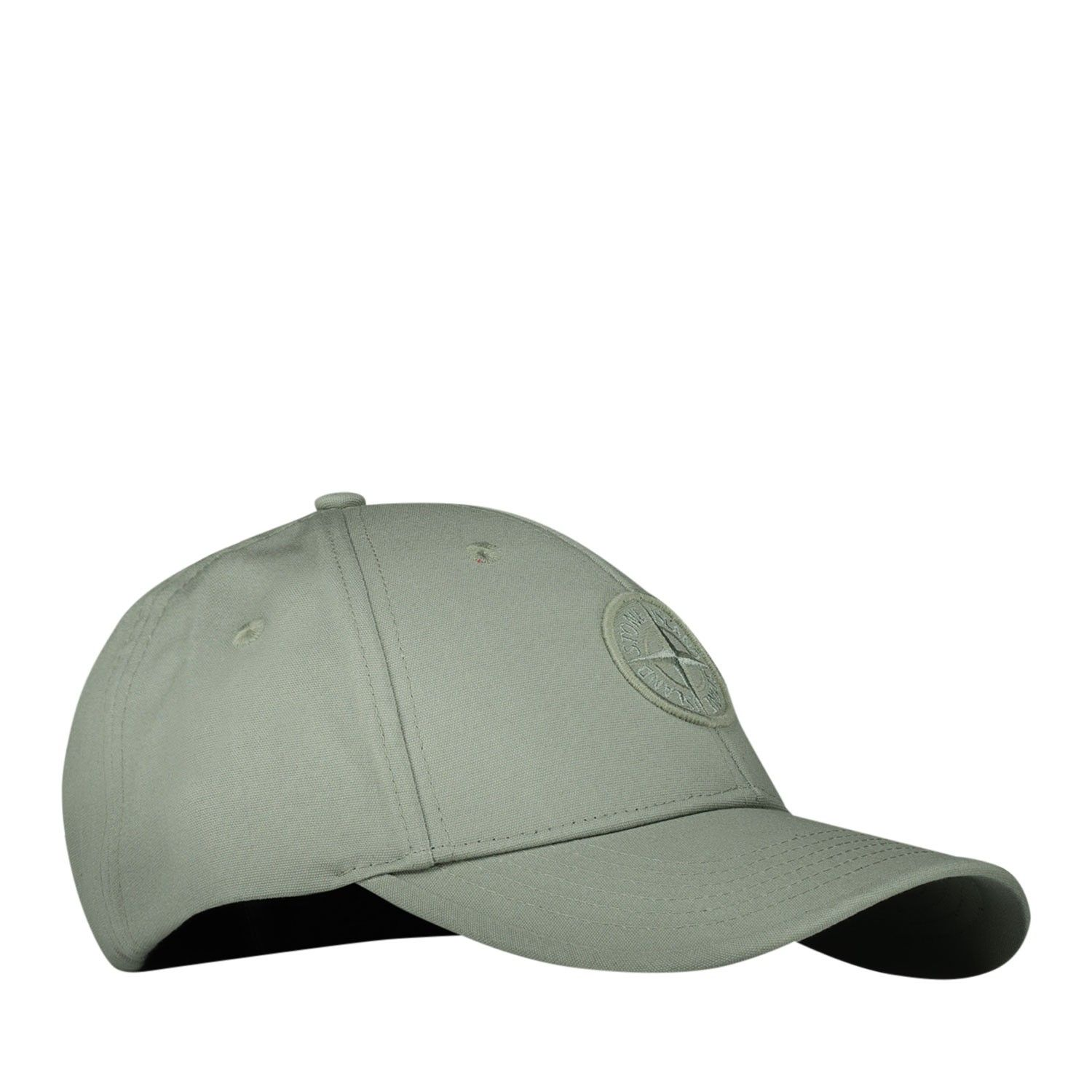 Picture of Stone Island 101691265 kids cap olive green