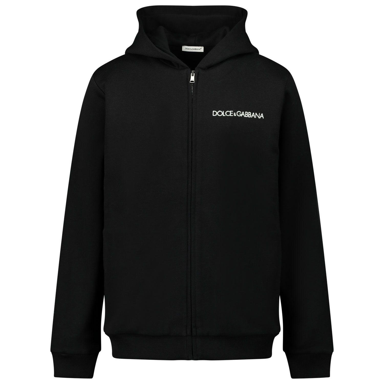 Picture of Dolce & Gabbana L4JW3E/G7XPK kids vest black
