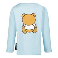 Picture of Moschino MOO005 baby shirt light blue