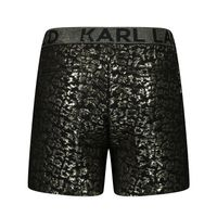 Picture of Karl Lagerfeld Z14138 kids shorts gold