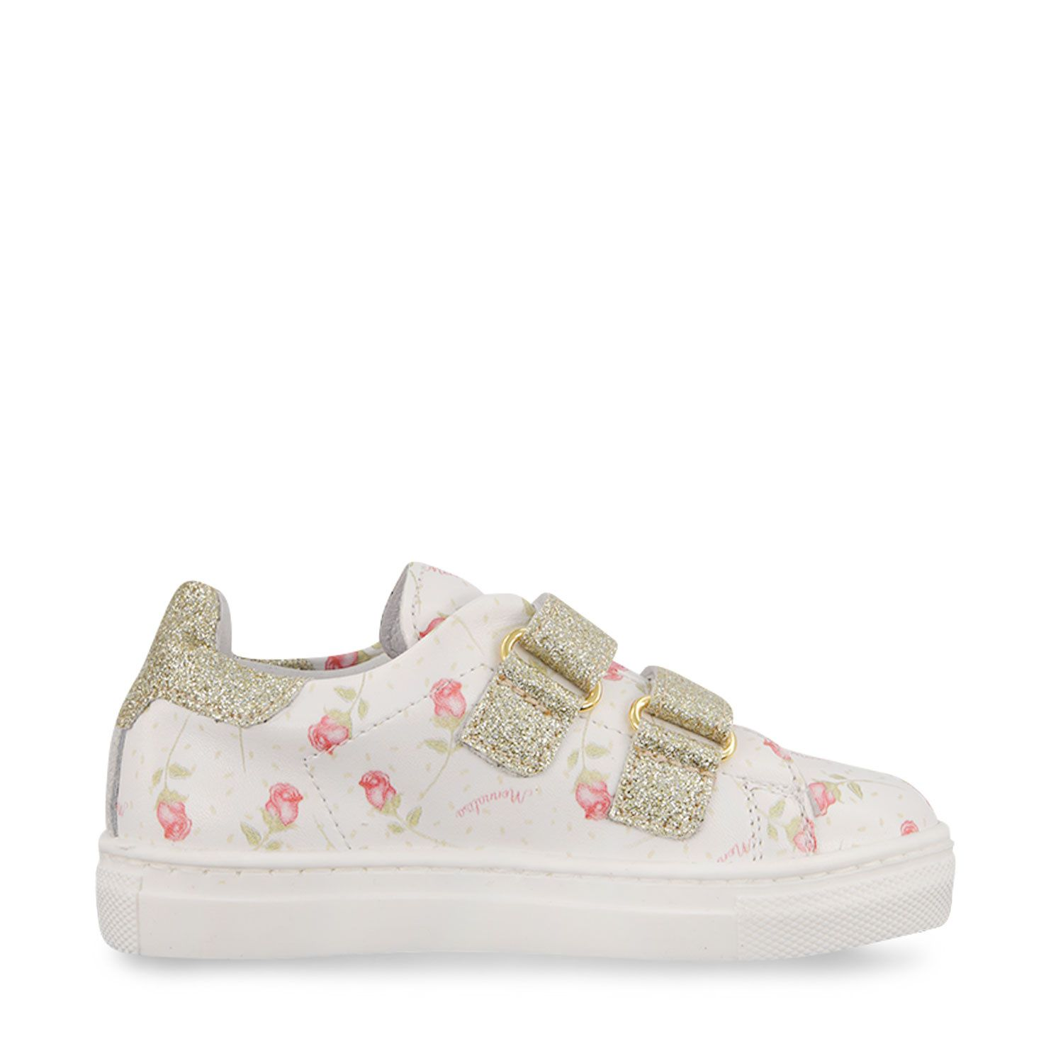 Picture of MonnaLisa 837003 kids sneakers white