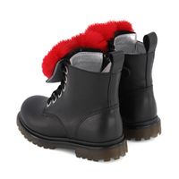 Picture of MonnaLisa 8C6026 kids boots black
