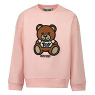Afbeelding van Moschino MUF03I baby trui licht roze